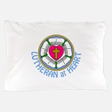 Lutheran At Heart Pillow Case