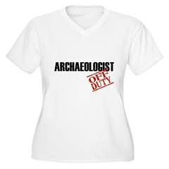 Off Duty Archaeologist T-Shirt