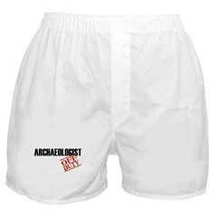 Off Duty Archaeologist Boxer Shorts