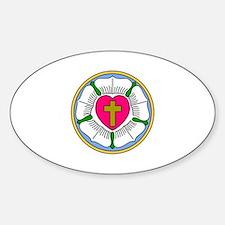 Lutheran Rose Decal