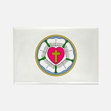 Lutheran Rose Magnets