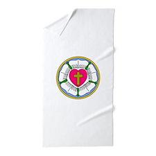 Lutheran Rose Beach Towel