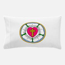 Lutheran Rose Pillow Case