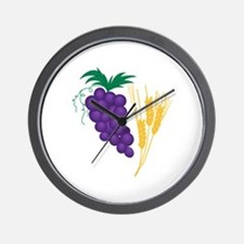 Communion Symbol Wall Clock