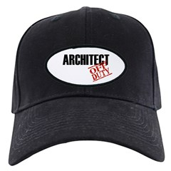 Off Duty Architect Baseball Hat