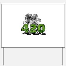 420 HAZE Yard Sign