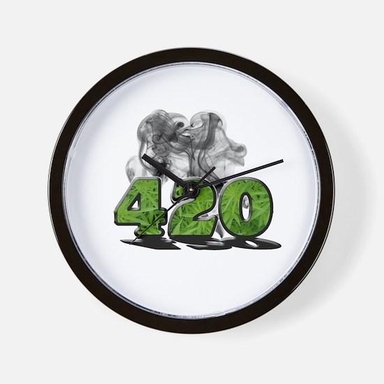 420 HAZE Wall Clock