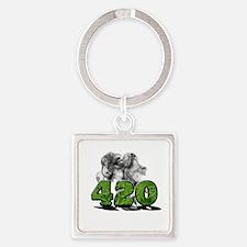 420 HAZE Keychains