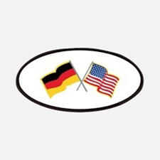 German American Flags Patch