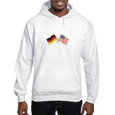 German American Flags Hoodie