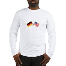 German American Flags Long Sleeve T-Shirt