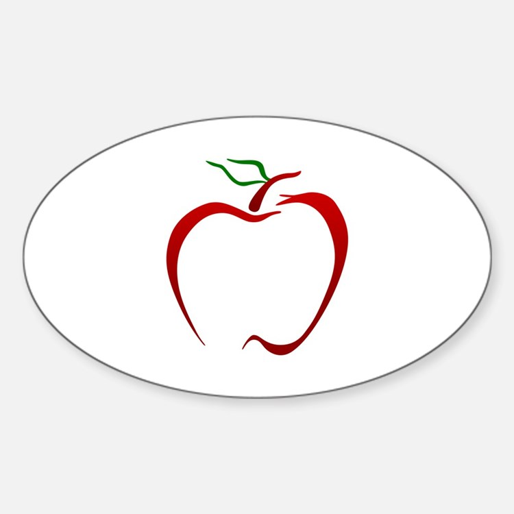 Apple Outline Decal