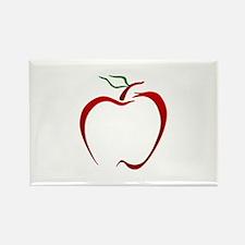 Apple Outline Magnets