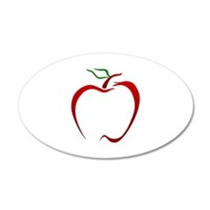 Apple Outline Wall Decal