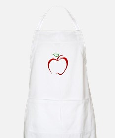 Apple Outline Apron