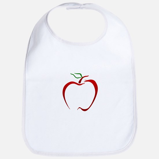 Apple Outline Bib