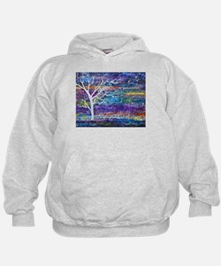 Abstract Tree landscape Hoodie
