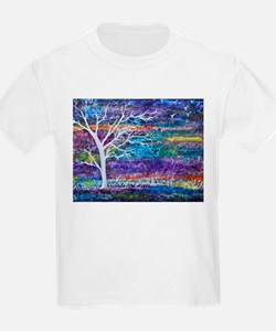 Abstract Tree landscape T-Shirt