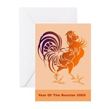Rooster Greeting Cards (Pk of 10)