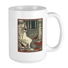 Egyptian Woman in Garden Mug
