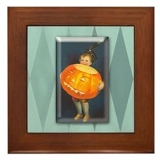 TLK008 Pumpkin Boy Framed Tile