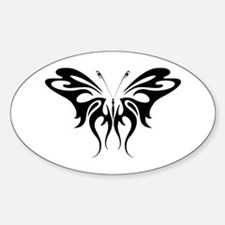 BUTTERFLY 30 Oval Decal
