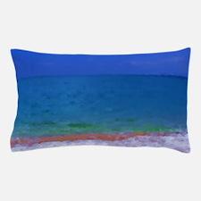 painting water landscape Pillow Case
