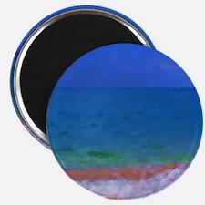 painting water landscape Magnet