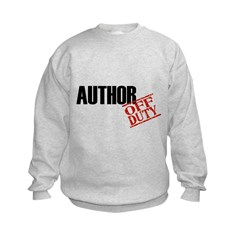 Off Duty Author Sweatshirt