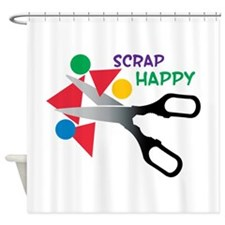 Scrap Happy Shower Curtain