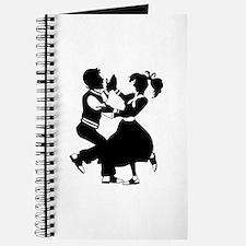 Jitterbug Silhouette Journal