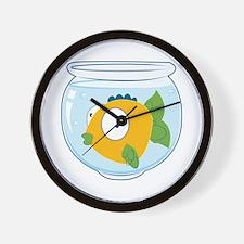 Pet Fish Wall Clock