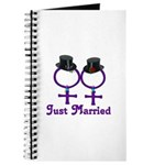 Just Married Formal Lesbian Guestbook