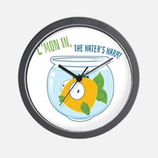 Waters Warm Wall Clock