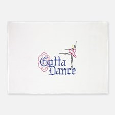 Gotta Dance 5'x7'Area Rug
