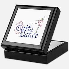 Gotta Dance Keepsake Box