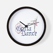 Gotta Dance Wall Clock