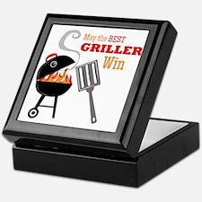 Best Griller Keepsake Box