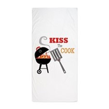 Kiss the Cook Beach Towel