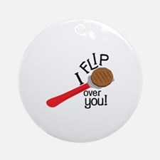 Flip Over Ornament (Round)
