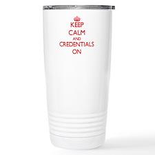 Credentials Travel Mug