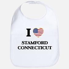 I love Stamford Connecticut Bib