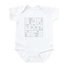 Sudoku Infant Bodysuit