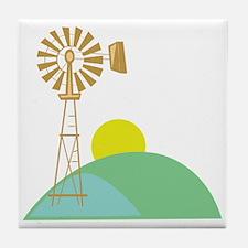 Wind Mill Tile Coaster