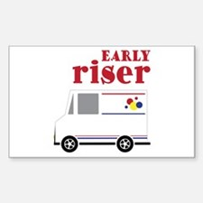 Early Riser Decal