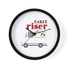 Early Riser Wall Clock