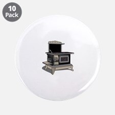 """Kitchen Stove 3.5"""" Button (10 pack)"""