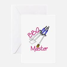 BBQ Master Greeting Cards