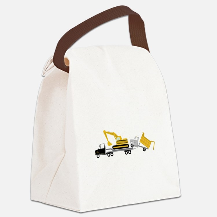 Transport Canvas Lunch Bag