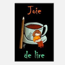 """Joie de lire"" Postcards (Package of 8)"
